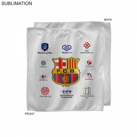 Promotional products: Sponsorship Rally Towel, 10x10, Sublimated Or Blank