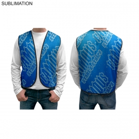 Promotional products: Sublimated Or Blank Mesh Vest