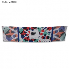 Promotional products: Sublimated Or Blank Polyester Banner, 120x30