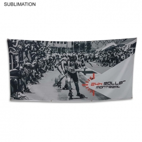 Promotional products: Sublimated Or Blank Polyester Banner, 96x48