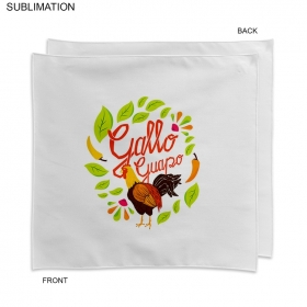 Promotional products: Sublimated Or Blank Polyester Napkin, 18x18