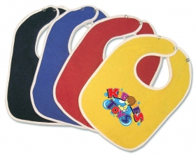 Promotional products: Terry Baby Bib 11x8