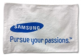 Promotional products: Terry White Towel 12x18