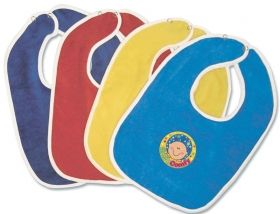 Promotional products: Velour Baby Bib 11x8