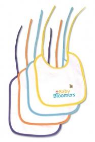 Promotional products: Velour Easy Tie Mini Baby Bib 7x9