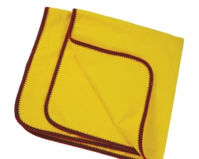 Promotional products: Velour 3 color Bath Blanket
