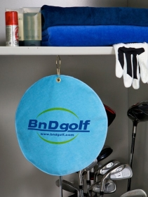 """Promotional products: Velour Golf Towel 11"""""""