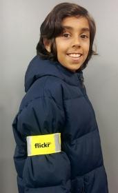 Promotional products: Kids Safety Armband Nylon