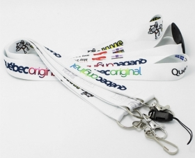 "Promotional products: 3/4"" Full Color Sublimated Lanyards"