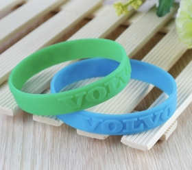 "Promotional products: 1/2"" Embossed Or Debossed Silicone Wristband"