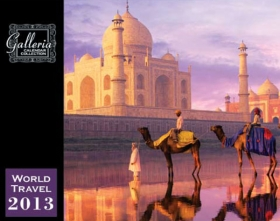 Promotional products: World travel wall calendar