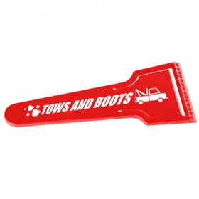"Promotional products: 9"" Dual Blade Ice Scraper"