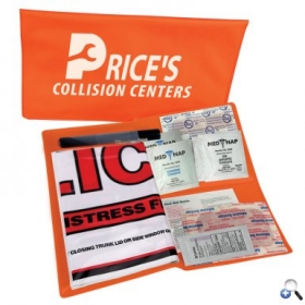 Promotional products: Auto Safety Folder Kit