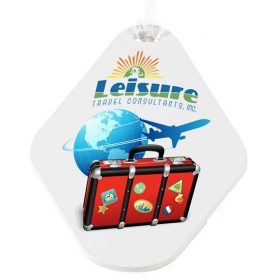 Promotional products: Teardrop Golf Tag - 4c Digital Imprint