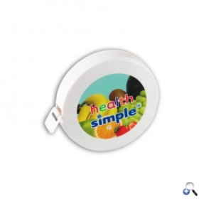 "Promotional products: 2"" Round Tape Measure - 4c Digital Imprint"