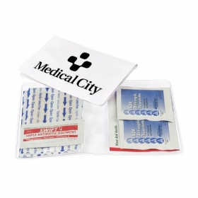Promotional products: Med-Wallet - Vinyl First Aid Kit