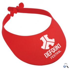 Promotional products: Adjustable Foam Sun Visor