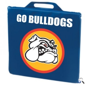 "Promotional products: 14"" x 2"" Stadium Cushion - Phthalate-compliant"