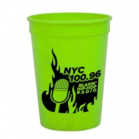 Promotional products: Cups-On-The-Go - 12 oz. Stadium Cup