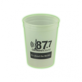 Promotional products: Glow In The Dark 12 oz. Stadium Cup