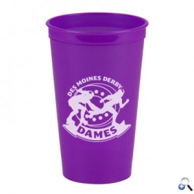 Promotional products: Cups-On-The-Go -20 oz. Transparent Stadium Cup