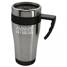 Promotional products: Stainless Steel Auto Mug With Pp Liner