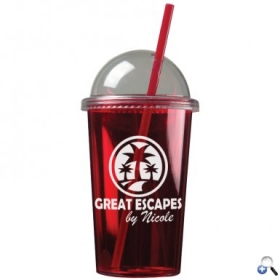 Promotional products: The Patriot - 20 Oz. Travel Tumbler (dome Lid)