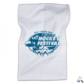 "Promotional products: 20"" Rally Towel - White"