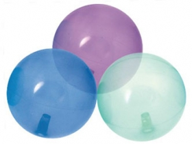 Promotional products: Transparent bouncing ball