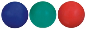 Promotional products: Rubber solid colored bouncing ball