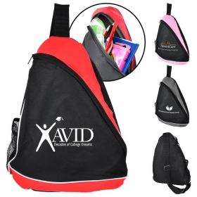 Promotional products: Savanna Sling Backpack