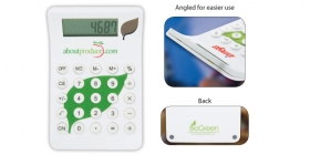 Promotional products: BioGreen Leaf Calculator