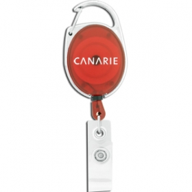 Promotional products: Retractable Badge Holder w/ Carabiner Clip