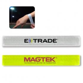 Promotional products: Reflective Slap Wristband