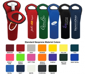 Promotional products: Neoprene Wine Bottle Holder