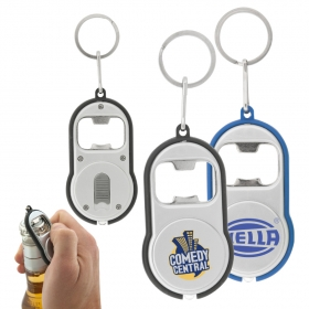 Promotional products: Bottle Opener Flashlight