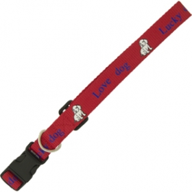 "Promotional products: 3/8"" Dog Collar"