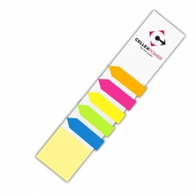 Promotional products: Sticky Note Book Mark