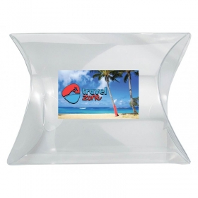 Promotional products: Clear Pillow Box - Small