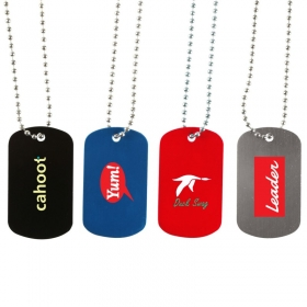 Promotional products: Dog Tag Necklace