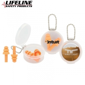 Promotional products: Silicone Earplug Keychain