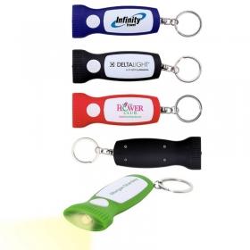Promotional products: The Mini Madi Keychain Flashlight