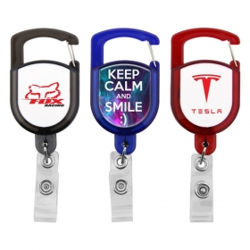 Promotional products: Carabiner Retractable Badge Holder