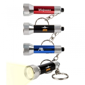 Promotional products: 7 Led Key Chain Flashlight