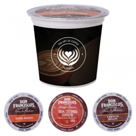 Promotional products: Single Serve Coffee Pods