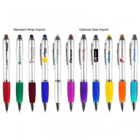 Promotional products: The Silver Grenada Stylus Pen