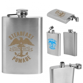Promotional products: Stainless Steel Flask 4 Oz.
