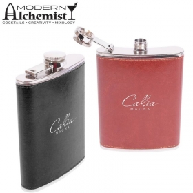 Promotional products: The Inverness 8 Oz. Flask