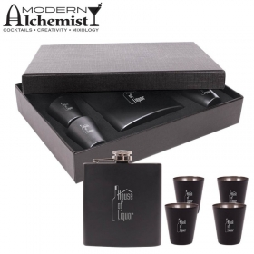 Promotional products: The Craignure Flask Gift Set (6 Oz.)