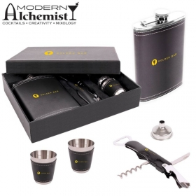 Promotional products: The Aberfeldy Flask Gift Set (9 Oz.)